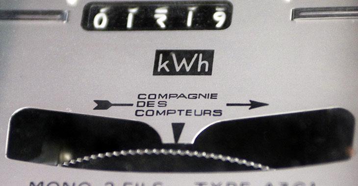 Compteur EDF pour l'électricité
